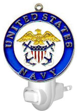 Military Nightlight - Air Force, Army, Coast Guard, Marines, Navy