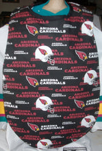 Handmade Adult Clothing Protector made with NFL Fabric
