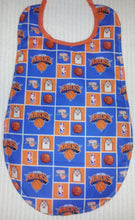 Handmade Adult Clothing Protector - made with NBA fabric