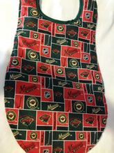 Handmade Adult Clothing Protector made with NHL fabric