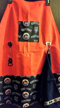 Handmade Sports Apron made with MLB fabric on sturdy canvas fabric