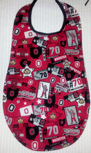 Handmade Adult Clothing Protector - made with NCAA/College Team fabric