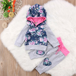 Bianca Hooded Set