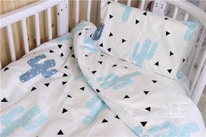 Quilt cover and pillow set