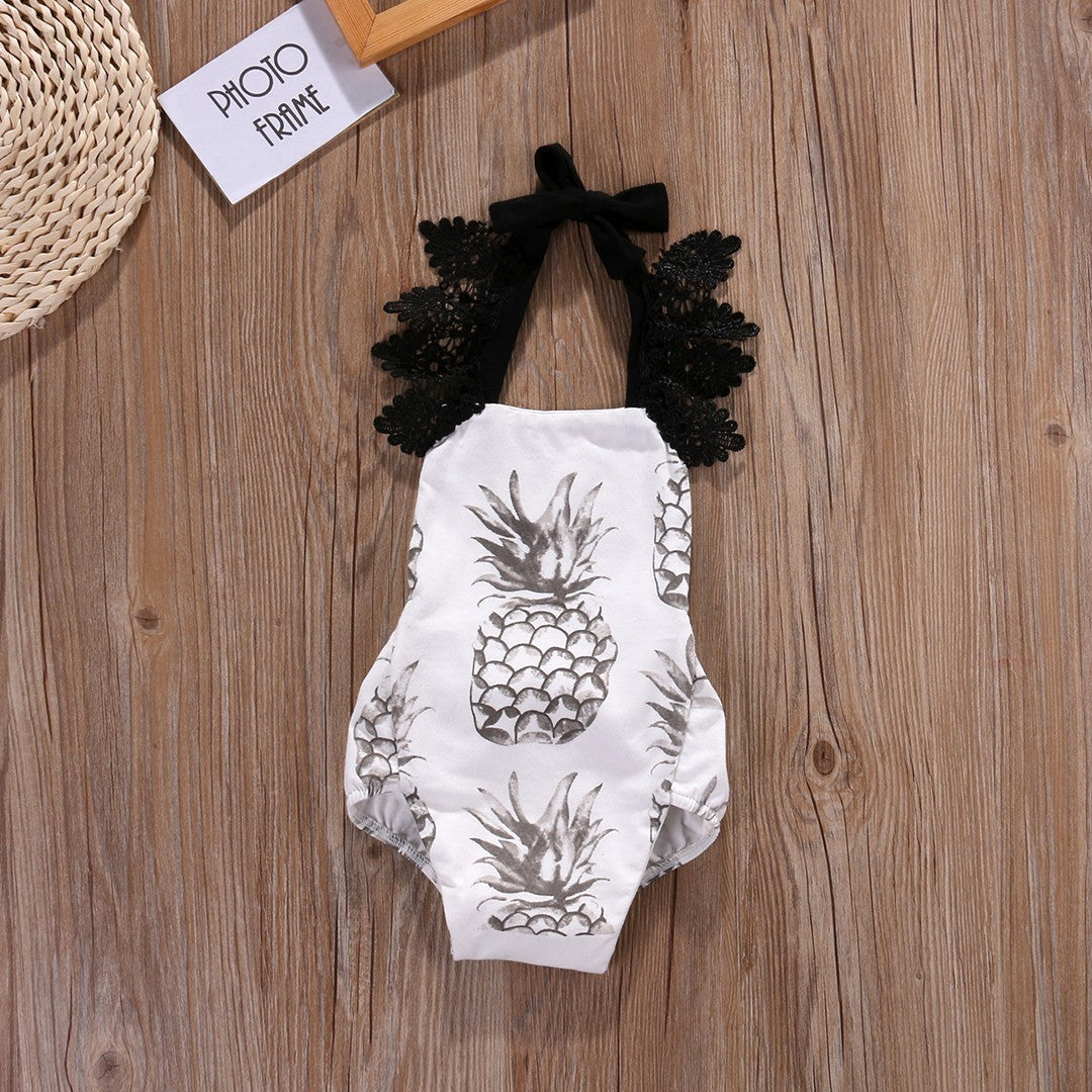 Pineapple Princess Romper