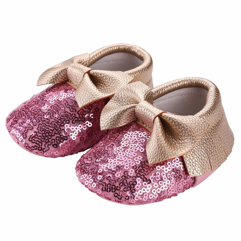 Sequin Moccasins