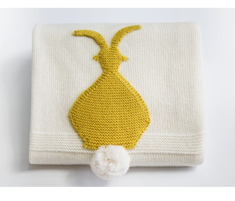 Bunny Tail blanket