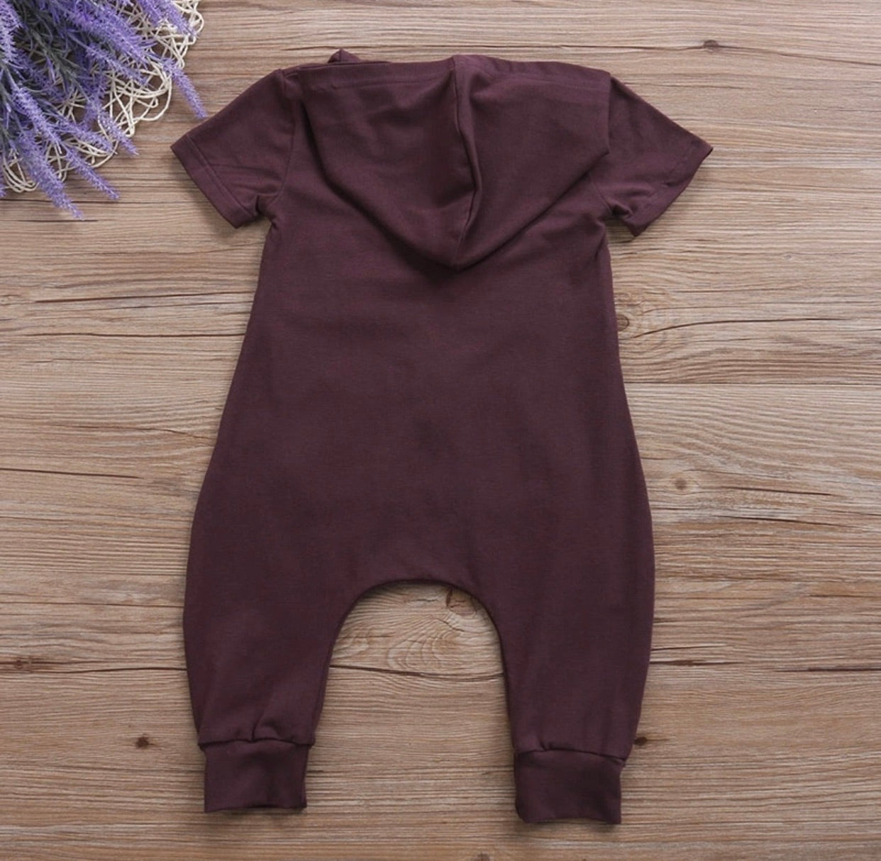 Ashton zip romper
