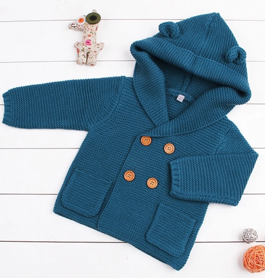 Boys knitted cardigan