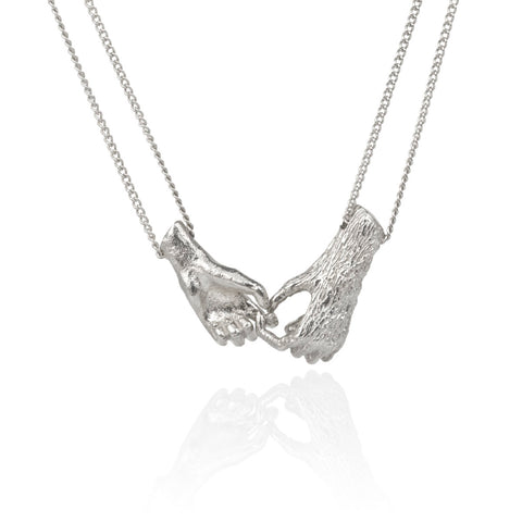 Together Necklace - Silver