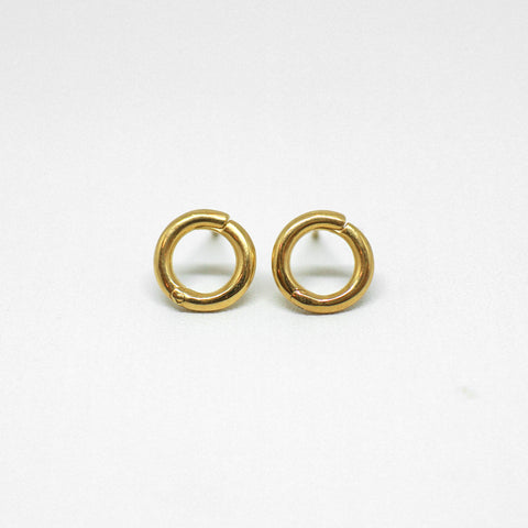 Karma Mini Studs - Gold