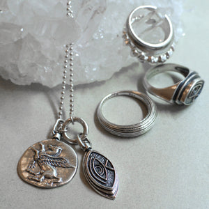 Horus Necklace - Silver