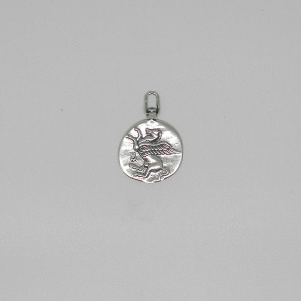 Pegasus Necklace - Silver