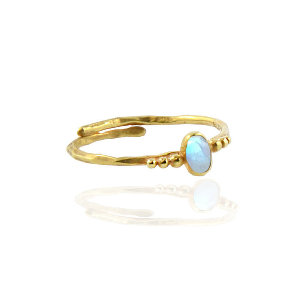 Full Moon Ring - Gold