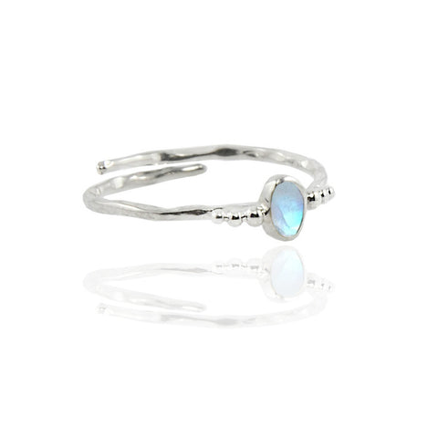 Full Moon Ring - Silver