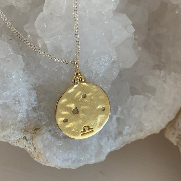 Star Sign Zodiac Constellation Necklace