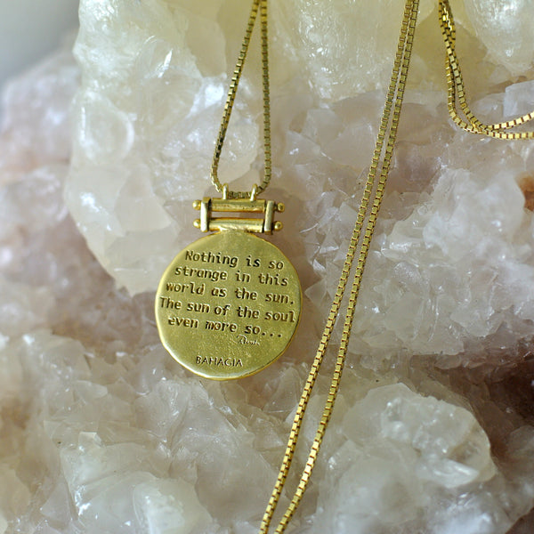 Rumi Necklace - Gold