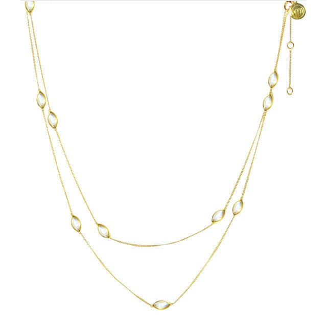 Lola Gem Chain - Gold
