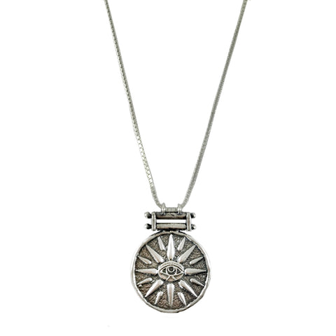 Rumi Necklace - Silver