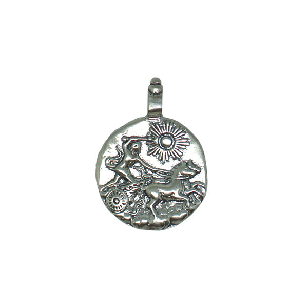 Warrior Necklace - Silver