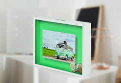 Creative Room Drop Gift Ideas - Money Box Picture Frame - Buy Online Red Scarf Gift Co.