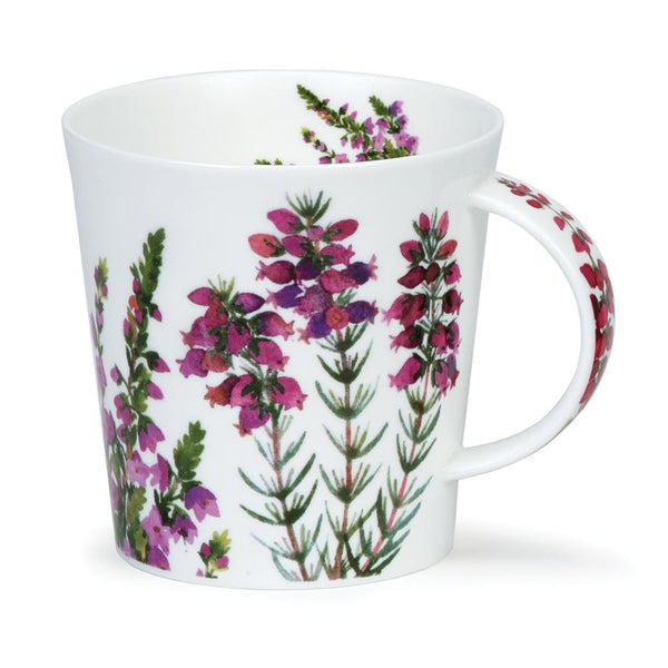 Dunoon Mug:  Cairngorm Scottish Heathers