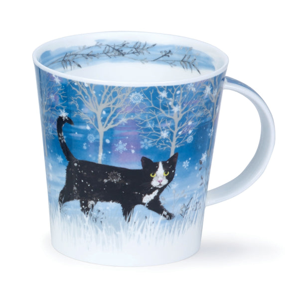 Dunoon Mug: Cairngorm Moonbeam Cat