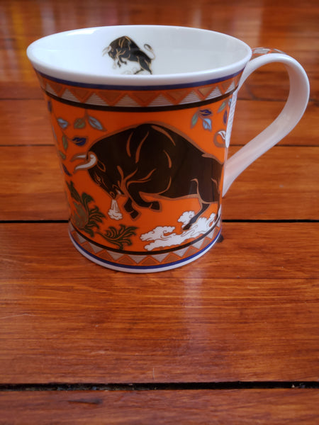 Dunoon Mug Arabia Bull | Buy Online in Canada at Best Selection & Prices Red Scarf Gift Company
