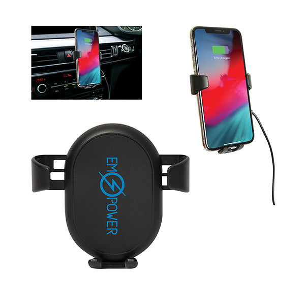 INDUCTION WIRELESS CAR PHONE CHARGING MOUNT
