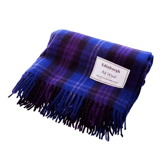 Heritage of Scotland Tartan Wool Blanket