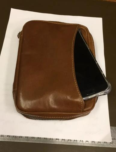Men's Business Travel Pouch