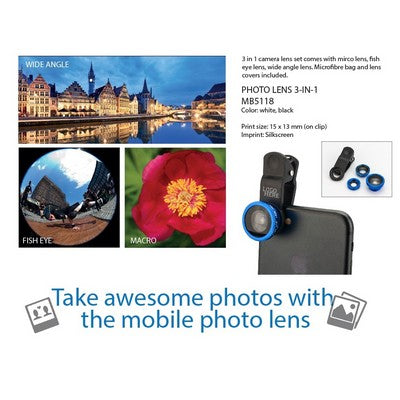 Tech: 3 in 1 Mobile Photo Lenses
