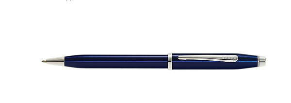 Writing Instruments: Century II Translucent Blue Laquer Pen
