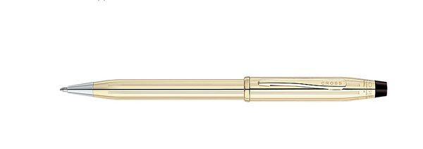 Writing Instruments: Century II 10 Karat Gold Filled/Rolled Gold Pen