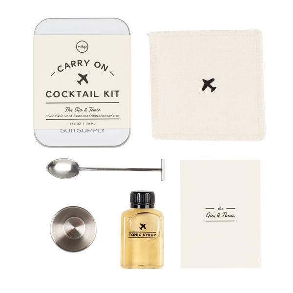 Gin & Tonic Cocktail Virtual Cocktail Kit