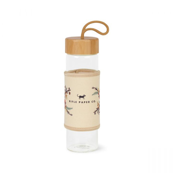 Serenity Bamboo Glass Bottle - 18.5 Oz.