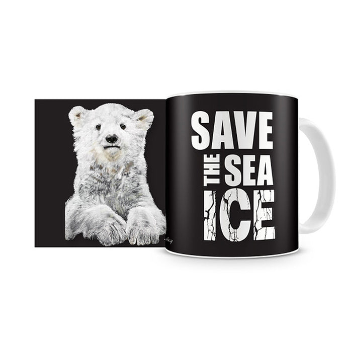UKI Save the Sea Ice 11oz Coffee Mug