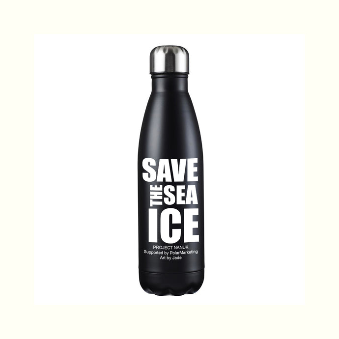 SAVE THE SEA ICE 17oz Stainless Steel Premium Water Bottle