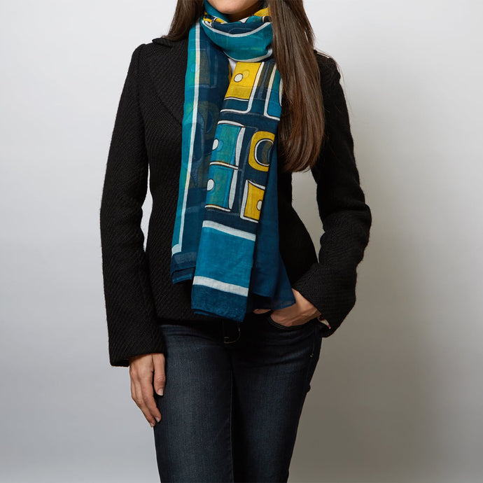 The Chilkat Voile Scarf
