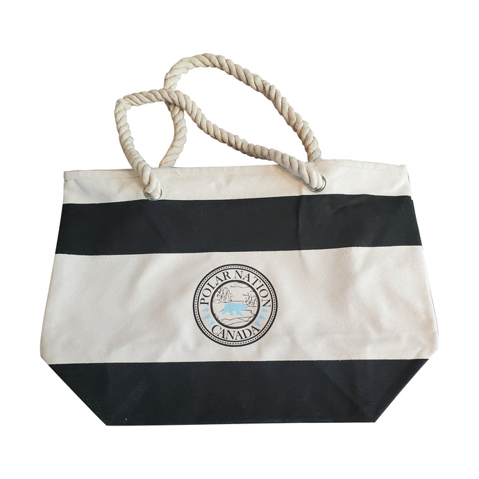 Polar Nation Cotton Tote Bag