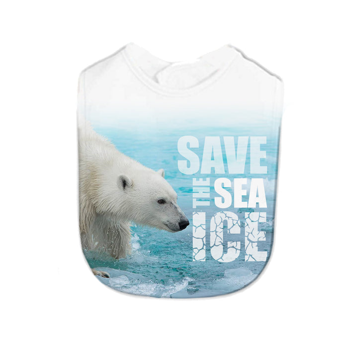 Save the Sea Ice Infant Bib