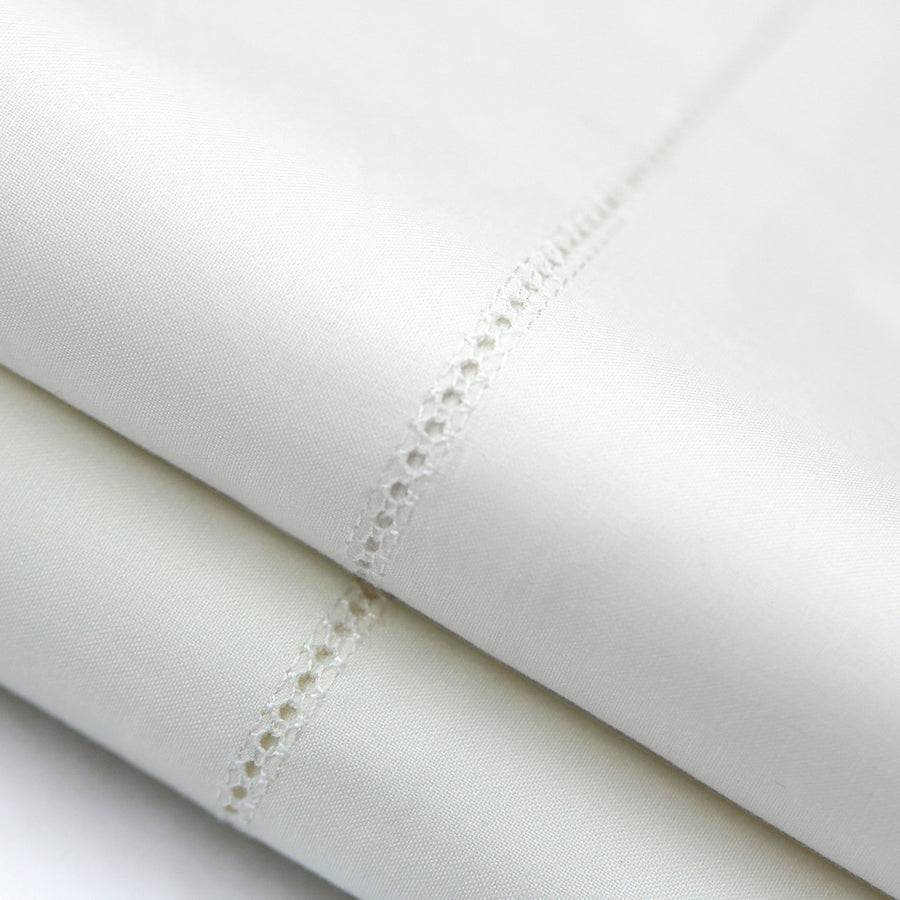 Italian Artisan Sewen - White Egyptian Cotton Sheets