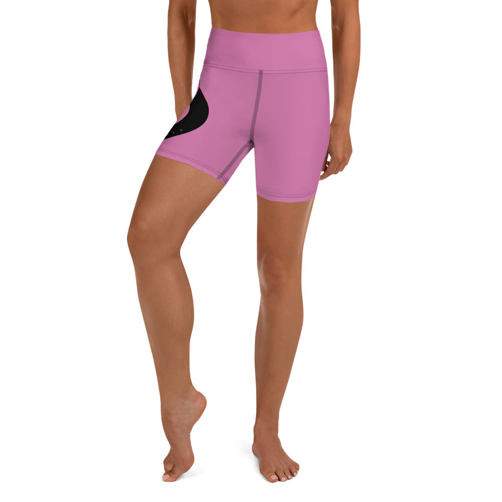 My BLong Hair Yoga Shorts - Pink