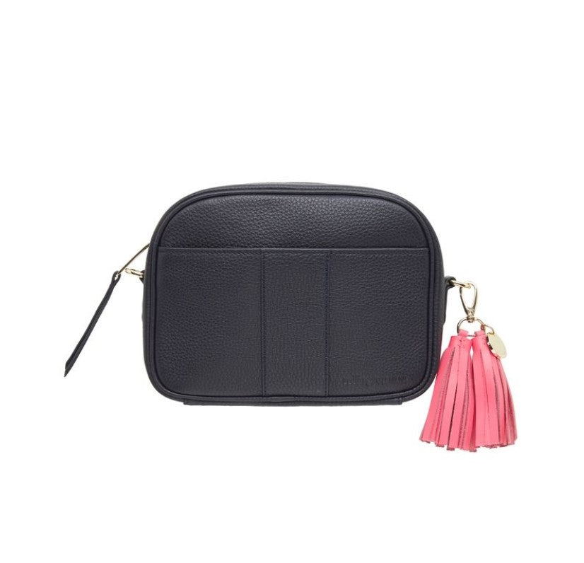 Zara Camera Bag - Navy Pebble
