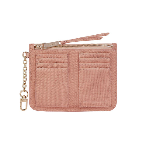 Coco Coin Purse - Blush Scales
