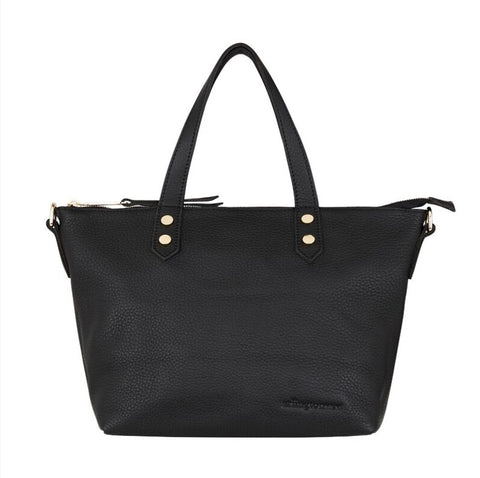 Paige Soft Tote Small - Black