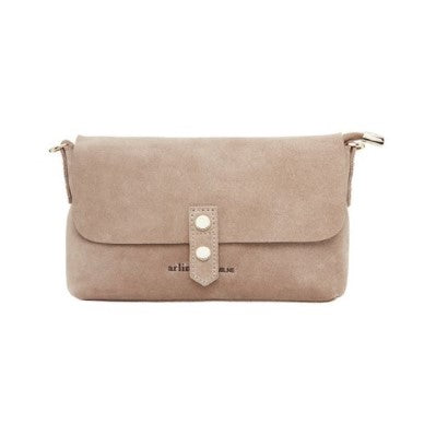 Paige Wallet - Fawn Suede