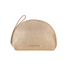 Ava Purse - Gold Suede