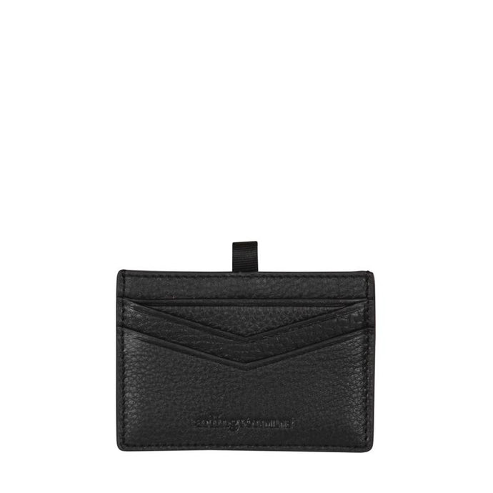 Alexis Leather Card Holder (Black) - Arlington Milne