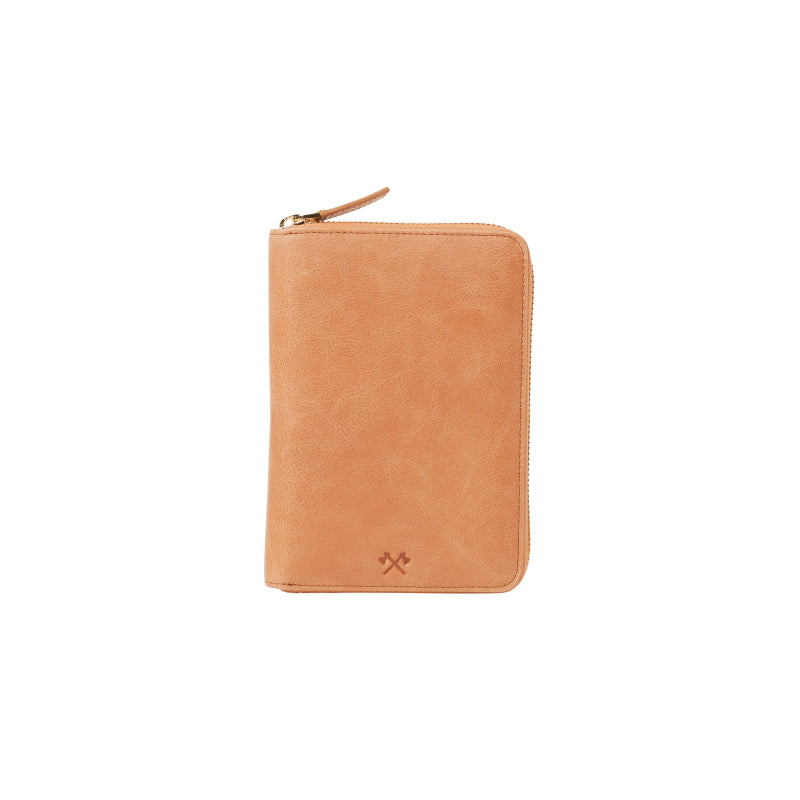 David Leather Passport Wallet (Vintage Tan) - Arlington Milne